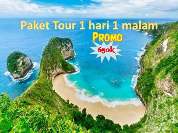 Paket Tour Nusa Penida 1 Hari 1 Malam